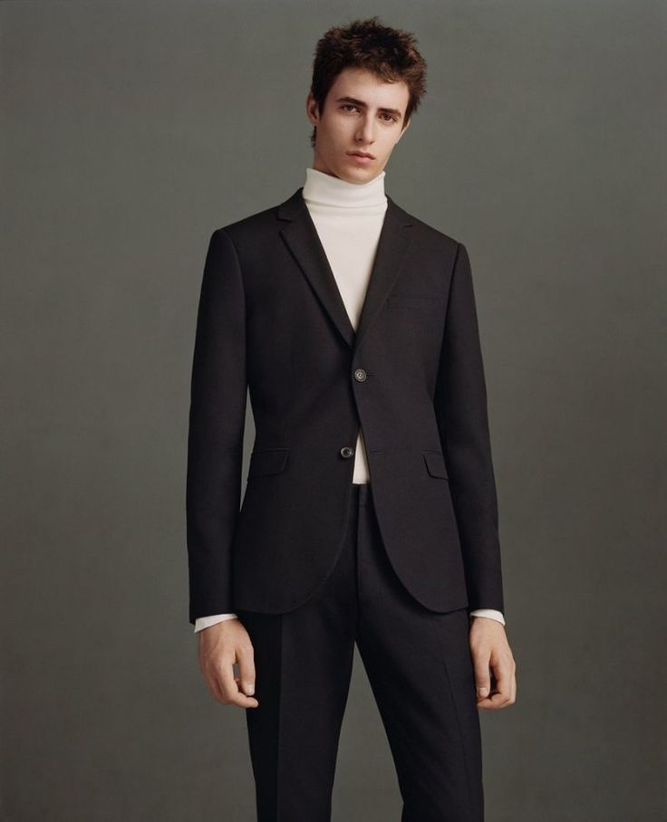 Topman makes a case for the suit and turtleneck.