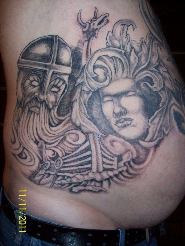 Celtic Viking Warrior Tattoos Celtic Viking Tattoo Telling