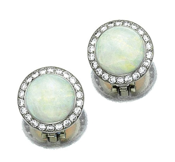Pink Opals And Moonstones
