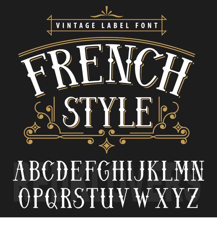 Vintage Lettering Fonts In 2020 Vintage Fonts Lettering Fonts Lettering