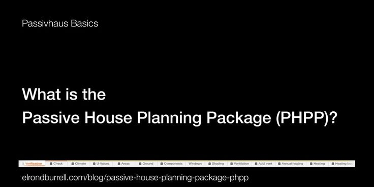What is the Passive House Planning Package? Elrond explains...