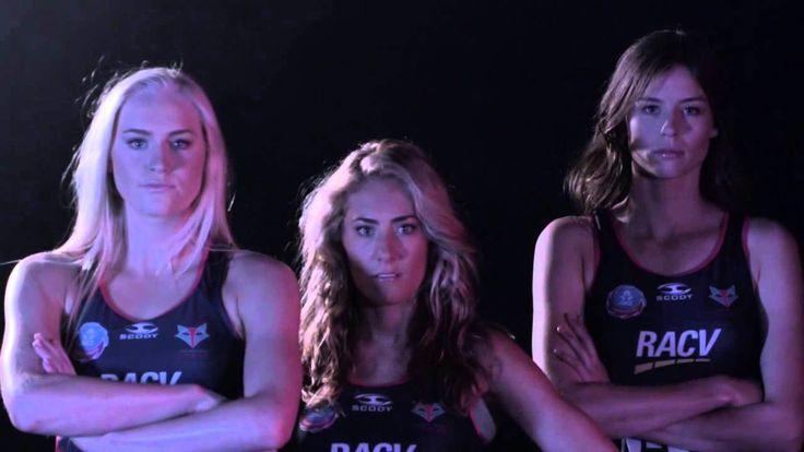 2014 Melbourne Vixens - Play Believe Achieve