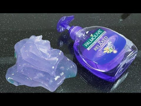 Hand Soap and Sugar Slime, No Glue Clear Slime with Hand Soap and Sugar, 2 ingredients Clear Slime - YouTube
