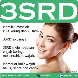 Kosmetik untuk Kulit Kering dan Kusam: Cream Pelembab 3SRD