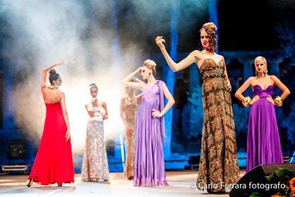 Immagini del  Fashion in Paestum 2013 - Ufficio stampa Michel Miglionico