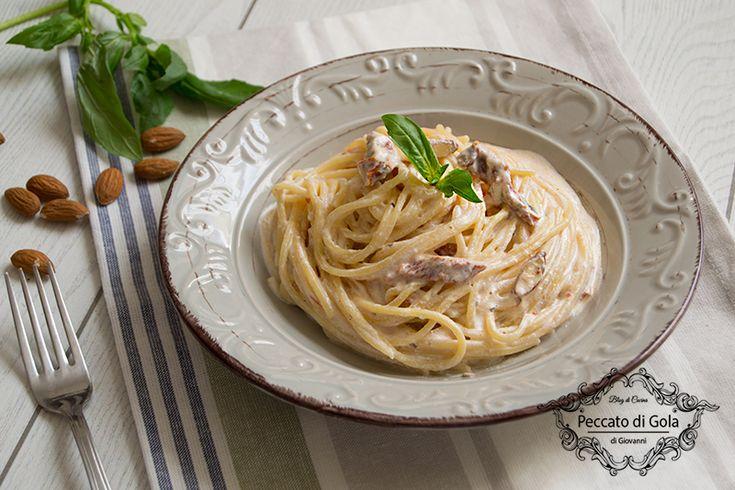 Pasta+con+ricotta+e+pomodori+secchi