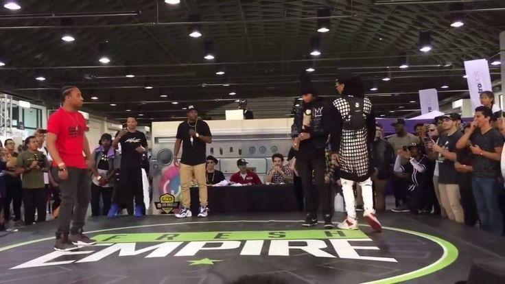 Les Twins vs Fik Shun at world of dance battle 2016