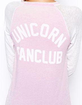 unicorn fan club tee!