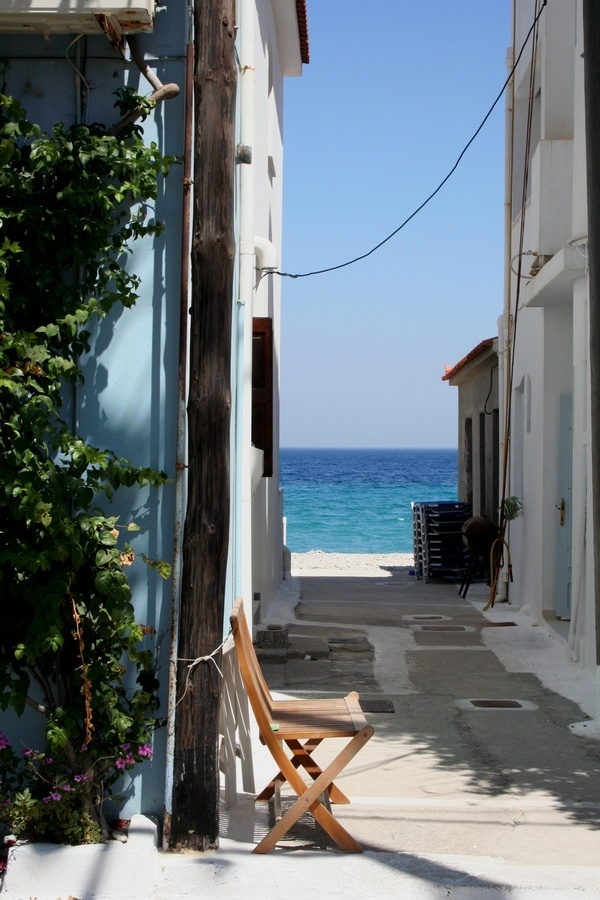 sea view, Samos, Greece