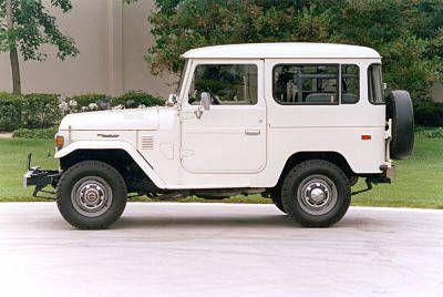Vintage Toyota Land Cruisers - 1979 Land Cruiser