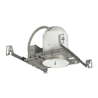 Galaxy Lighting RS3000B 5 In Line Voltage Non IC Housing Recessed Can Light