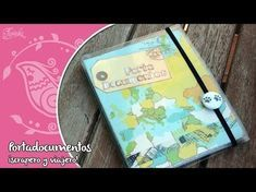 Portadocumentos de Scrapbooking con Plastificadora - YouTube