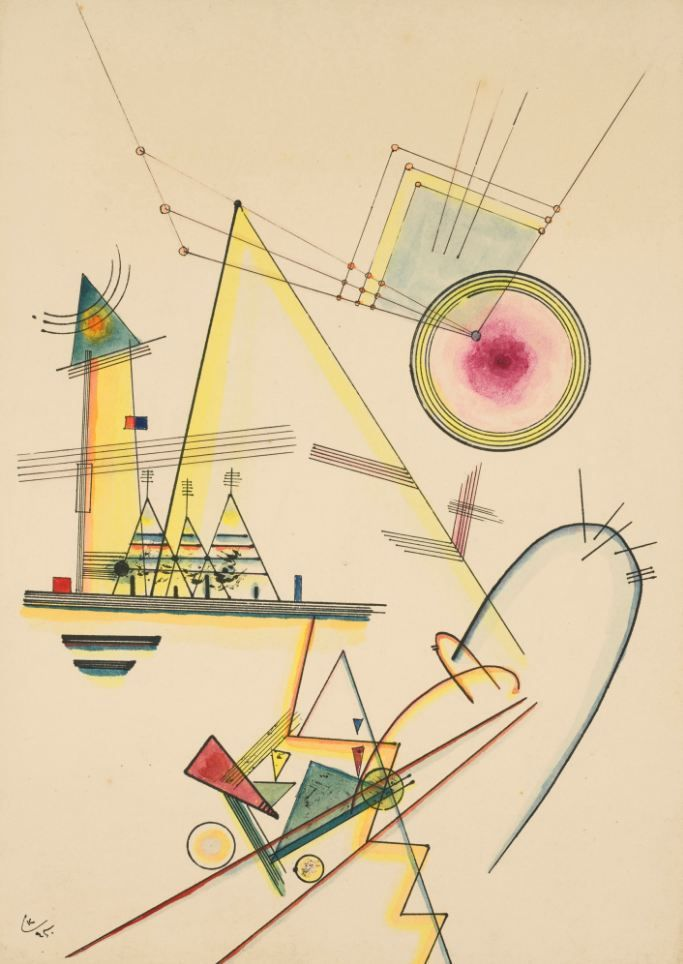 227 best Wassily Kandinsky images on Pinterest | Wassily kandinsky ...