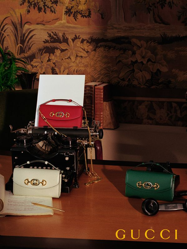 25d4fd85ba38 The Gucci Zumi line merges two of its most distinctive codes into one  symbol  the