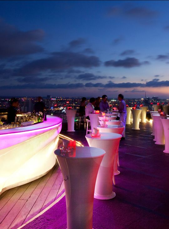 Boasting the brightest neon lights on the skyline and 360-degree views, Chill Skybar is the perfect place to escape the heat and urban bustle of Ho Chi Minh City.