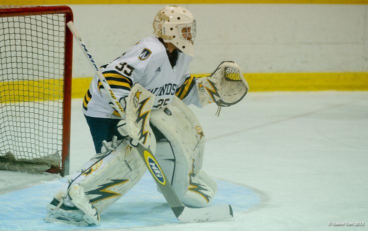 Parker Van Buskirk, 2012-13 Men's Hockey, Credit: Edwin Tam