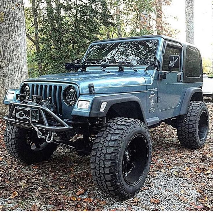 The 25 Best Blue Jeep Ideas On Pinterest: Best 25+ Jeep Wrangler TJ Ideas On Pinterest