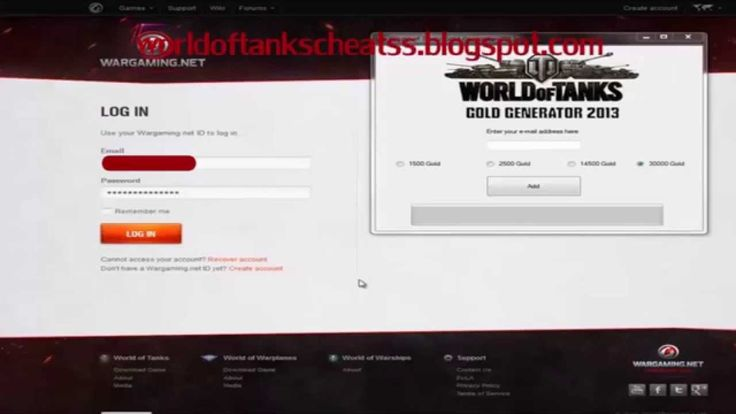 Hi guys, today I'm really please to announce my world of tanks cheats tool
