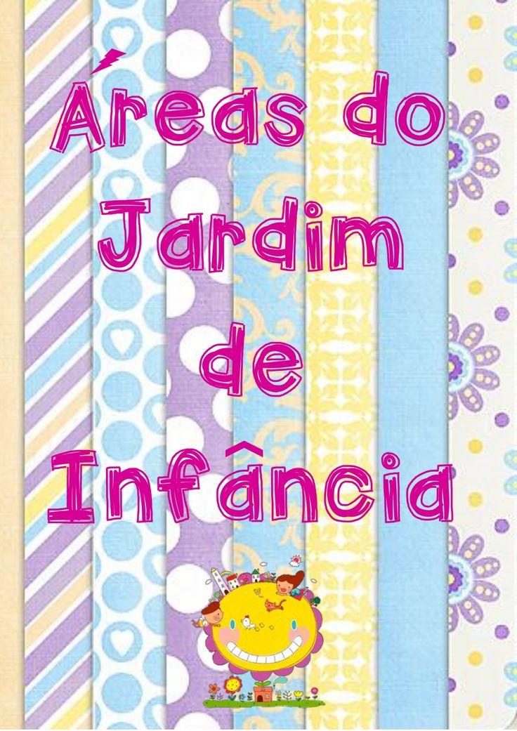 Áreas Jardim de Infância Colorir by Celina Sousa via slideshare