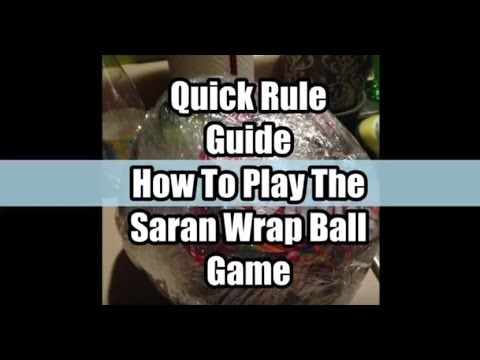 The 'Saran Wrap Ball' Christmas Party Game Is A Must! • AwesomeJelly.com
