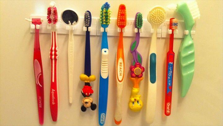 Universal Toothbrush Holder- 24 DIY Toothbrush Holder Ideas | DIY to Make