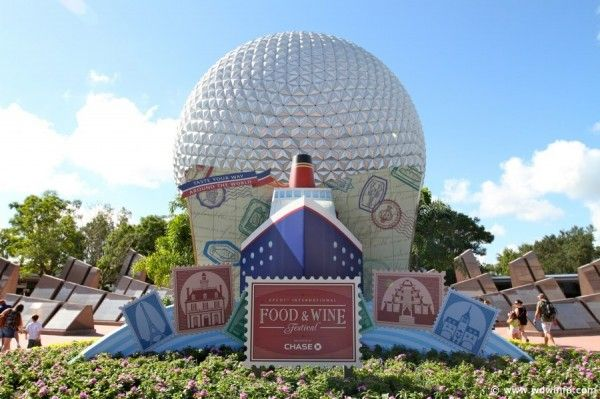 Attend Epcot's Food and Wine Festival
