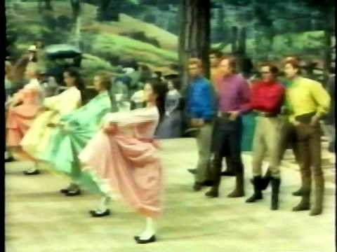 "Here is the barn dance scene from the movie ""Seven Brides For Seven Brothers."" The choregraphy was created by Michael Kidd & I think it is one of the best choregraphed dance in cinema history. I just love it & I hope you do too!!"