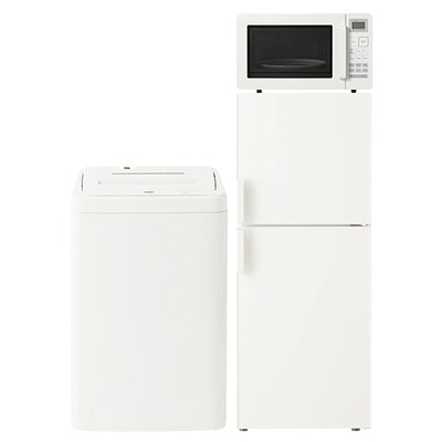 無印良品 家電一式3点セットA(電気冷蔵庫137L) ¥65,800
