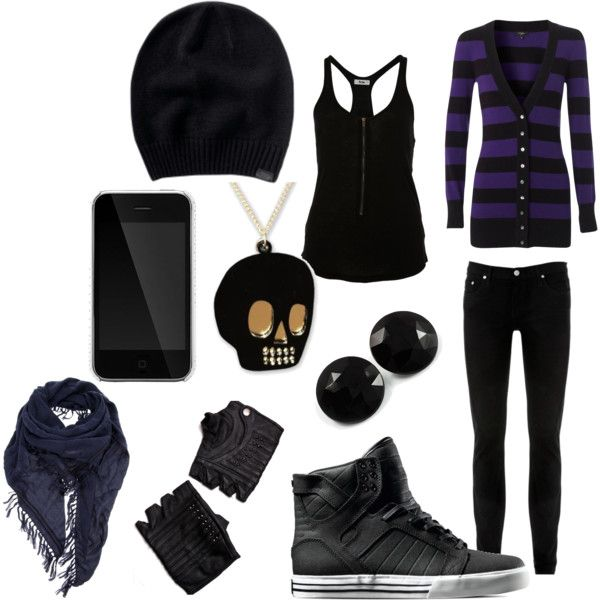 """EMO""? By annafashionlover on Polyvore I still love this ..."