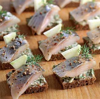 "Canapé is a very convenient type of food for a festive table. ""Canapé"" can be translated from French as ""tiny"". Canape on Skewers Recipes"