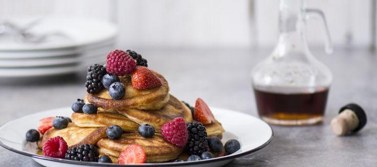 Pancakes eli amerikkalaiset pannukakut