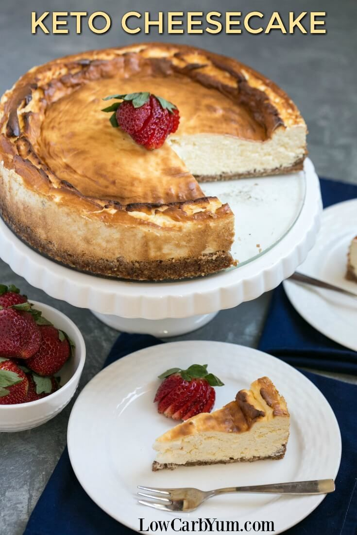 Buy quality low carb groceries without breaking your budget! And, find out how to make this New York style keto cheesecake using common every day ingredients. #ILikeALDI #ad