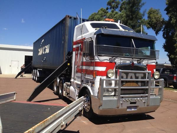 The first of our containers has just been delivered ex Italy. SWAT will be very well stocked! #winemaking #aussiewine