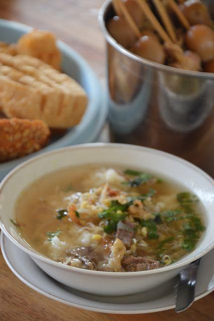 Diah Didi's Kitchen: Soto Sedeep…. Soto Bening yang Segar..di Semarang Atas …^_^