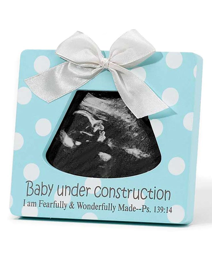 Best 25 ultrasound frame ideas on pinterest gender neutral baby this blue baby under construction ultrasound frame by dicksons is perfect zulilyfinds negle Image collections