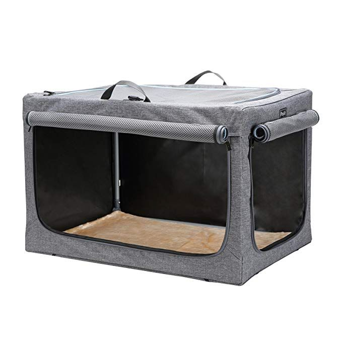 Petsfit Travel Pet Home Indoor Outdoor For Dog Steel Frame Home Collapsible Soft Dog Crate Review Large Dog Crate Dog Crate Cheap Dog Cages