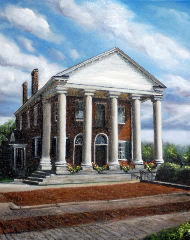 Limited edition print old state bank decatur alabama for Home builders decatur al