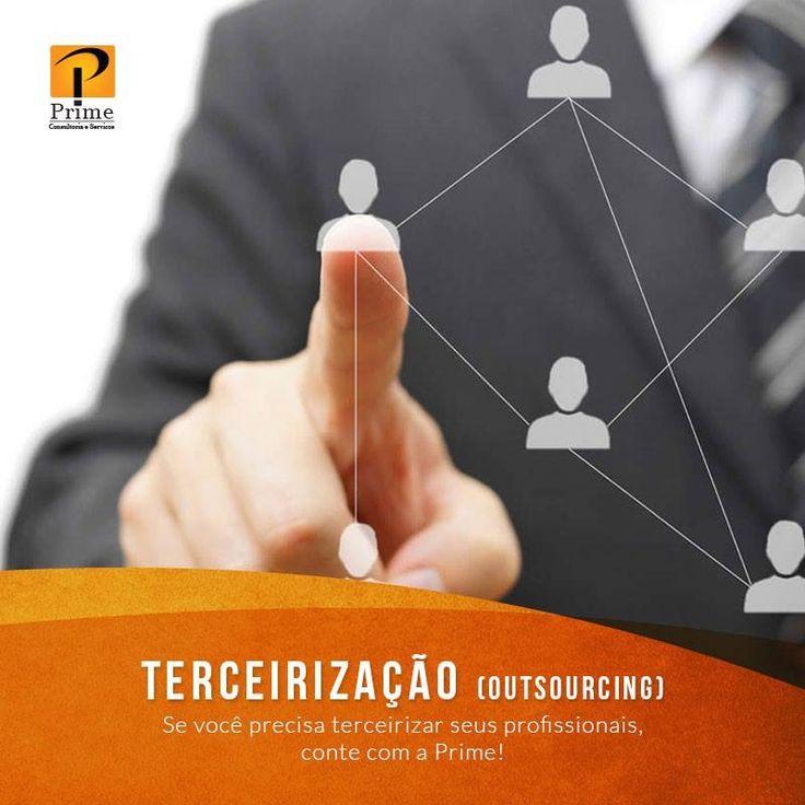 Terceirização de serviços em Brasília DF! www.empresaprime.srv.br