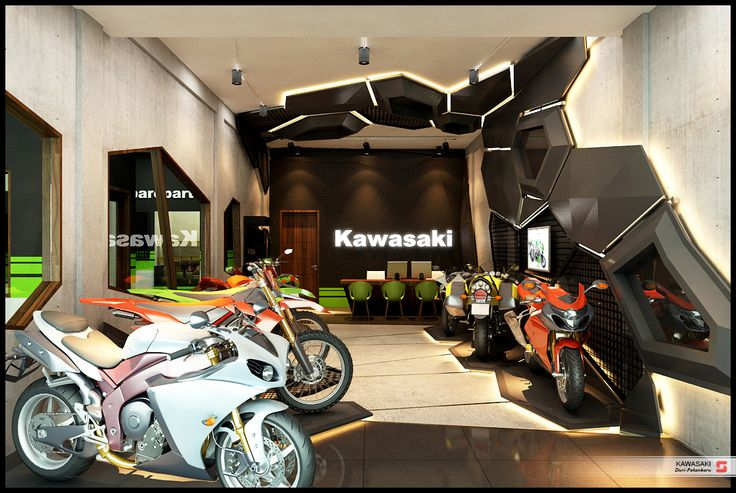 Kawasaki Gallery Duri, Pekanbaru Indonesia