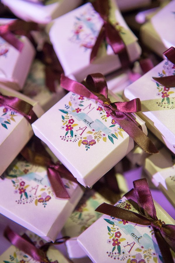 wedding favors ideas do it yourself%0A Elegant DC Wedding with Shades of Violet