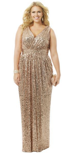 cutethickgirls.com gold plus size dresses (02) #plussizedresses                                                                                                                                                                                 More