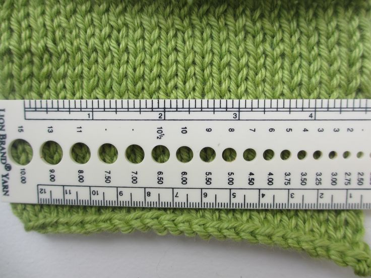 Knitting Calculators : How to stitch a hat calculating many stitches cast on