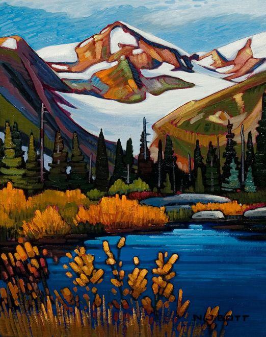 Nicholas Bott OIL Desire Mountain