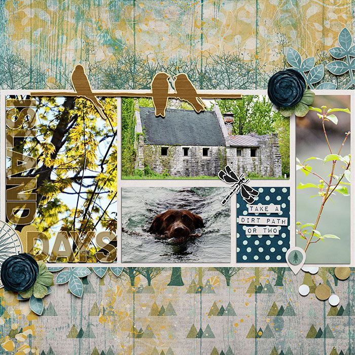created using digital scrapbook product Nature was Here by Captivated Visions and Amanda Yi at Sweet Shoppe Designs