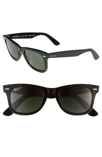 4d065bb363 Ray-Ban Classic Wayfarer 50mm Polarized Sunglasses