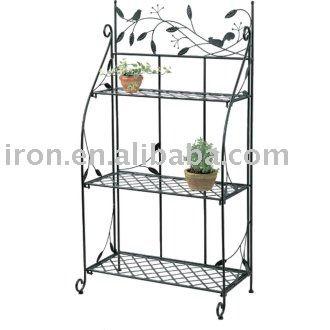 estante de ferro para vasos id u00e9ias para o jardim Craft Show Folding Shelves Craft Show Folding Shelves