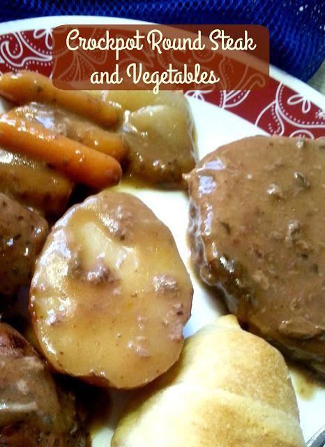 The Better Baker: Crockpot Round Steak and Vegetables