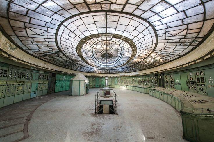 Centrale Thermique de Budapest – Hongrie, sert de salle des machines lors du premier épisode de la série Dracula