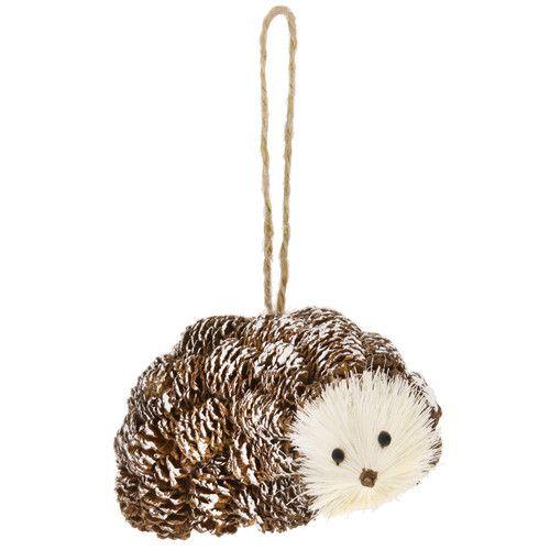 Found it at Wayfair - Pinecone Hedgehog Ornament