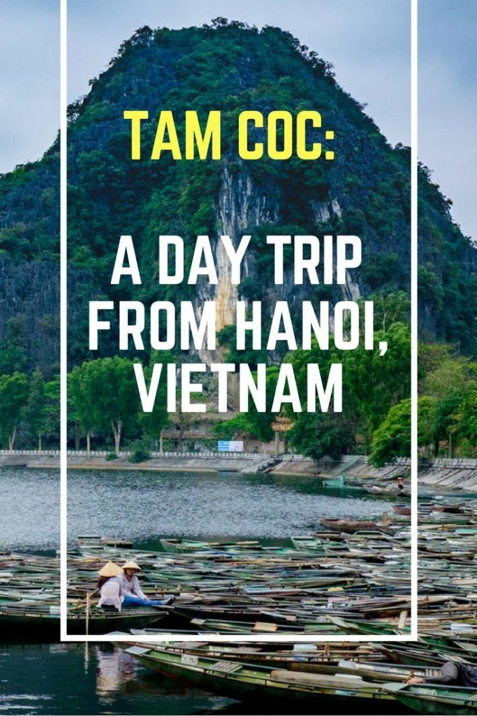Tam Coc: A Day Trip from Hanoi, Vietnam. Click here to find out more!  #Vietnam #TamCoc